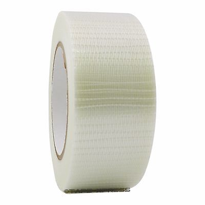 Bi-directional Filament Strapping Tape 2 X 60 Yd Reinforced Free Shipping