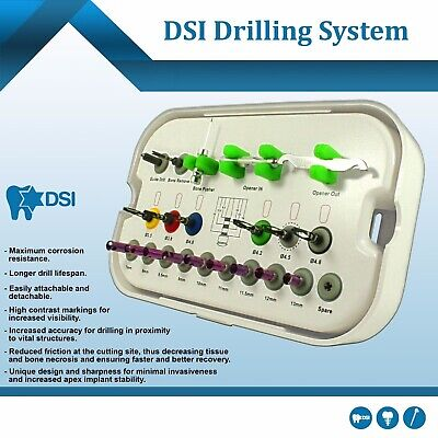 Dsi Dental Implant Drills One Drilling System Surgical Instrument Tool