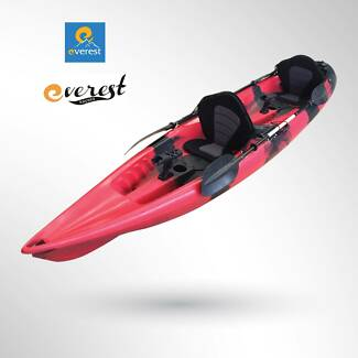 Everest Double Sit-On Fishing Kayak Package