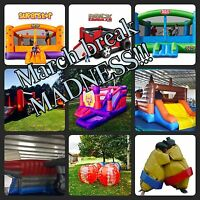March break INFLATABLES