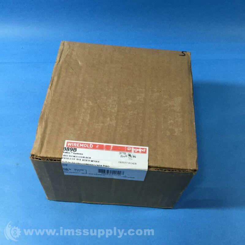 Legrand 889B 880 Series Cast Iron Floor Box FNFP