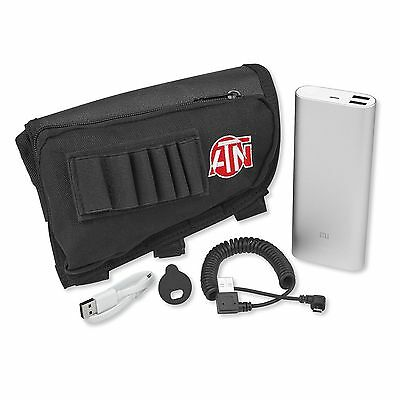 NEW ATN Extended Life Battery Pack w/ Micro USB Cable & Case - ACMUBAT160