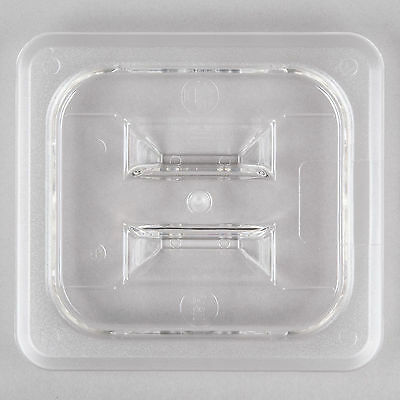 12 Pack 16 Size Pan Lid Clear Plastic Steam Prep Table Food Polycarbonate Cover