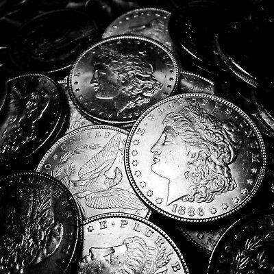 1878 1904    Uncirculated    Silver Morgan Dollar Rare Us Old Antique Coin Lot
