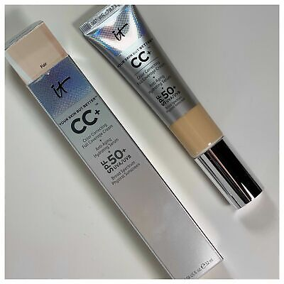 It Cosmetics Your Skin but Better CC Cream With SPF 50+ Light, Medium (Best Face Cream With Spf)