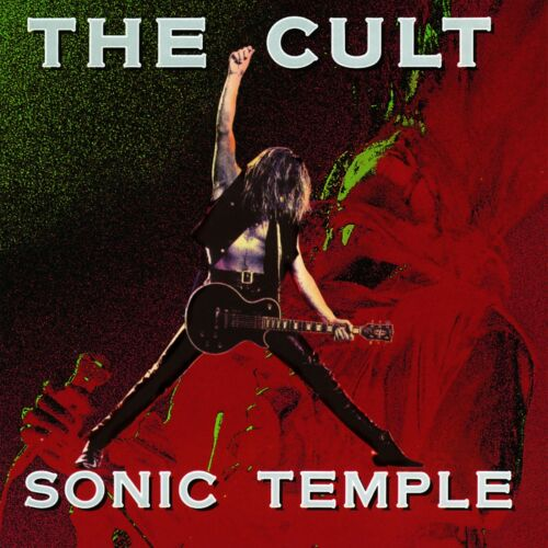 The CULT Sonic Temple BANNER HUGE 4X4 Ft Fabric Poster Tapestry Flag album art