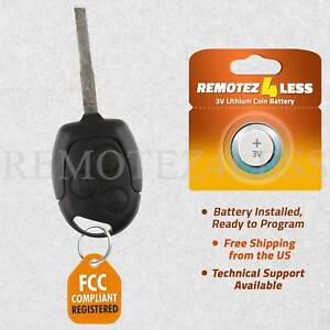 Ford Fiesta Key Keyless Entry Remote Fob Ebay