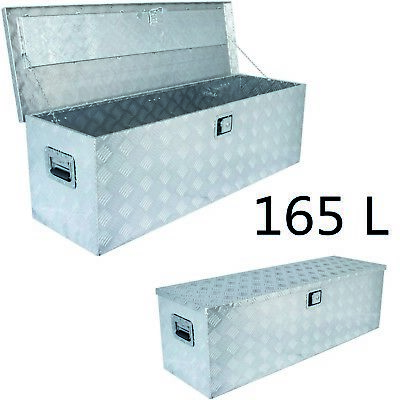 Vintec Alu Transportbox Werkzeugbox VT 165 Ltr. Lagerkiste Werkzeugkoffer Truhe