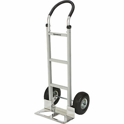 Strongway Aluminum Hand Truck With 10in. Pneumatic Wheels