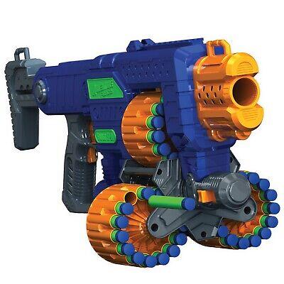 New Foam Dart Nerf Compatible Machine Gun Motorized Blaster Kids Toy Refill 80ft