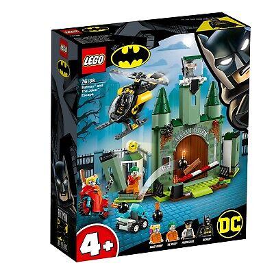 LEGO® DC Super Heroes  76138  Joker™ auf der Flucht und Batman™, NEU & OVP ()