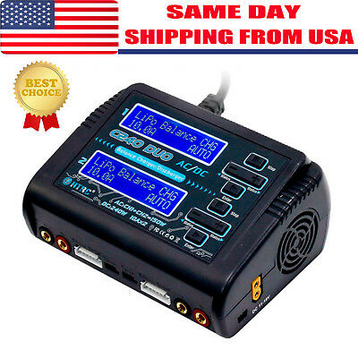 HTRC C240 Dual Channel RC Car 6S Lipo NiMH battery Balance Charger discharger