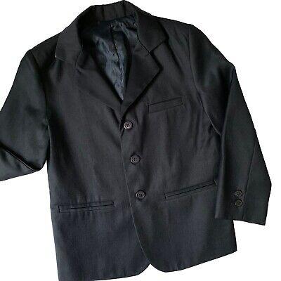 Navy Blue Communion Suits (Navy Blue Blazer Youth Size 8 Reg School Communion Wedding Sports)