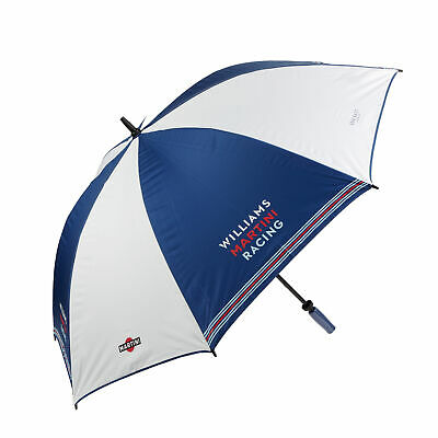 "UMBRELLA Williams Martini Racing LARGE 50"" 126cms Hackett Formula One F1 NEW!"