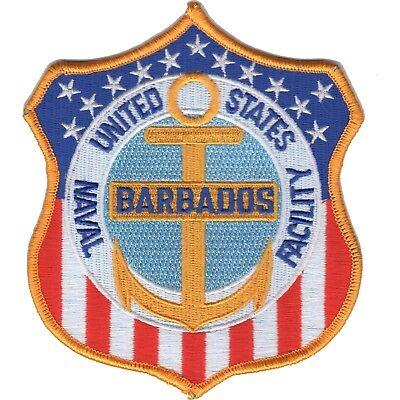 US Naval Facility BARBADOS NAVFAC Military Patch