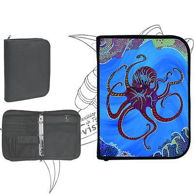 "Logbuch Cordura 3-Ring für PADI - Motiv ""Octopussy"""