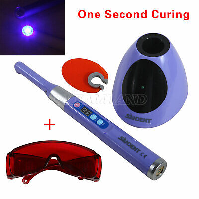 1 Sec Dental Led Curing Light Lamp 2300mw Fit Woodpecker Red Goggles Dsq-d