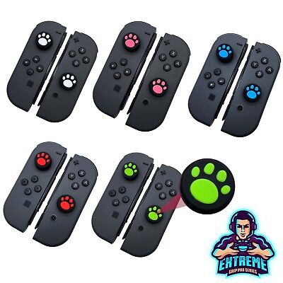 Cane Kitty Paw Thumb Grip Stick Cover per Nintendo Interruttore Joy con