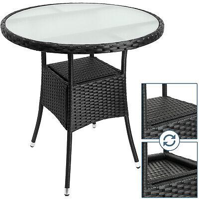 B-Ware Polyrattan Tisch Rattan Gartentisch Terrasse Möbel Garten Beistelltisch