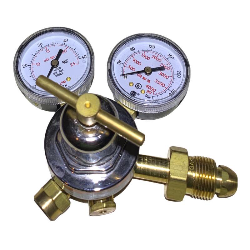 Smith 31-50-580 Argon /CO2 Single Stage Flow Gauge Regulator CGA 580