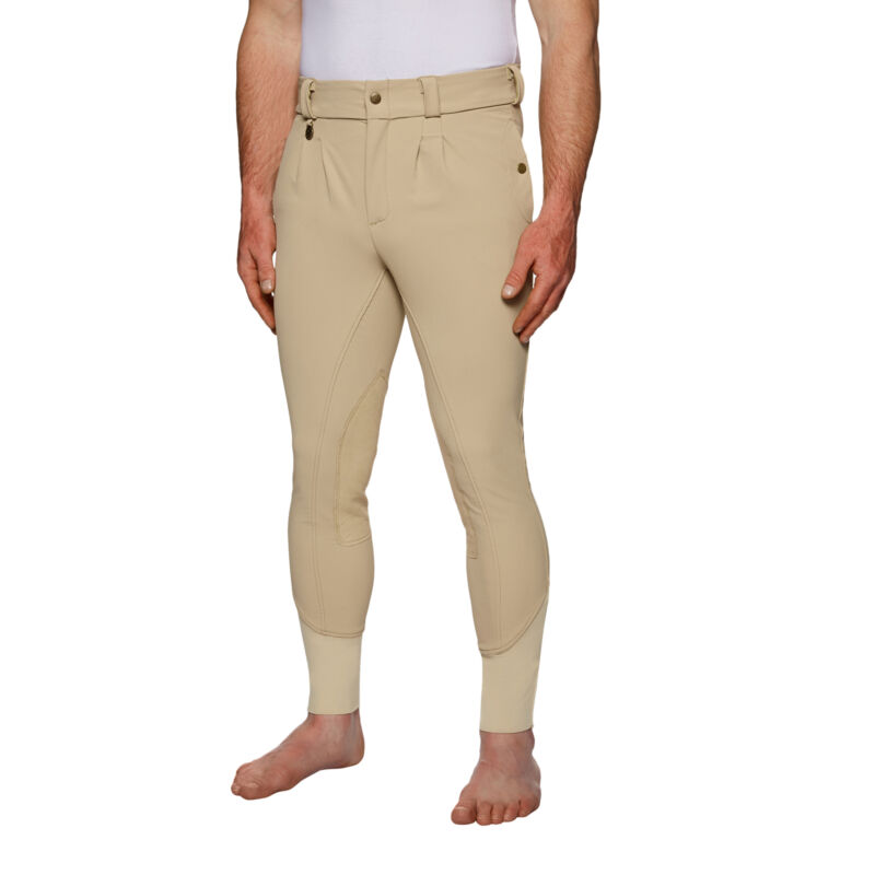 Derby House Elite Mens Pants Riding Breeches - Beige All Sizes