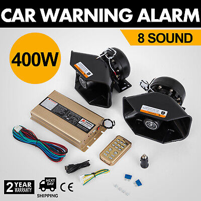 2Pcs 18 Sound Auto Warnung Alarm PA Lautspreche 130db 12V DC  Siren Horn UPDATED ()