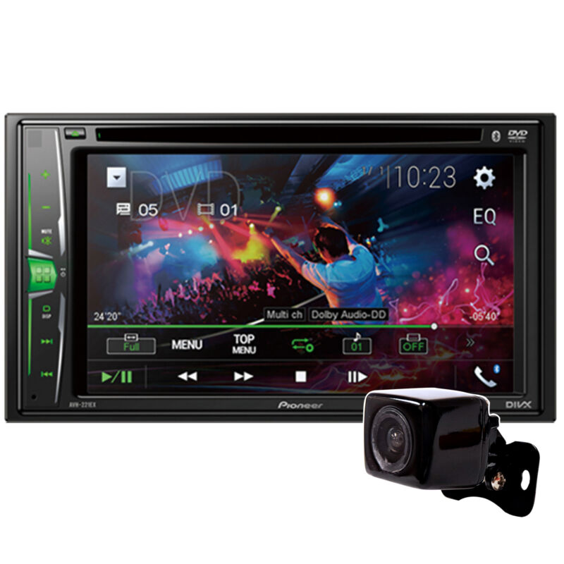 "New!! Pioneer 6.2"" DVD Multimedia Receiver AVH-221EX"