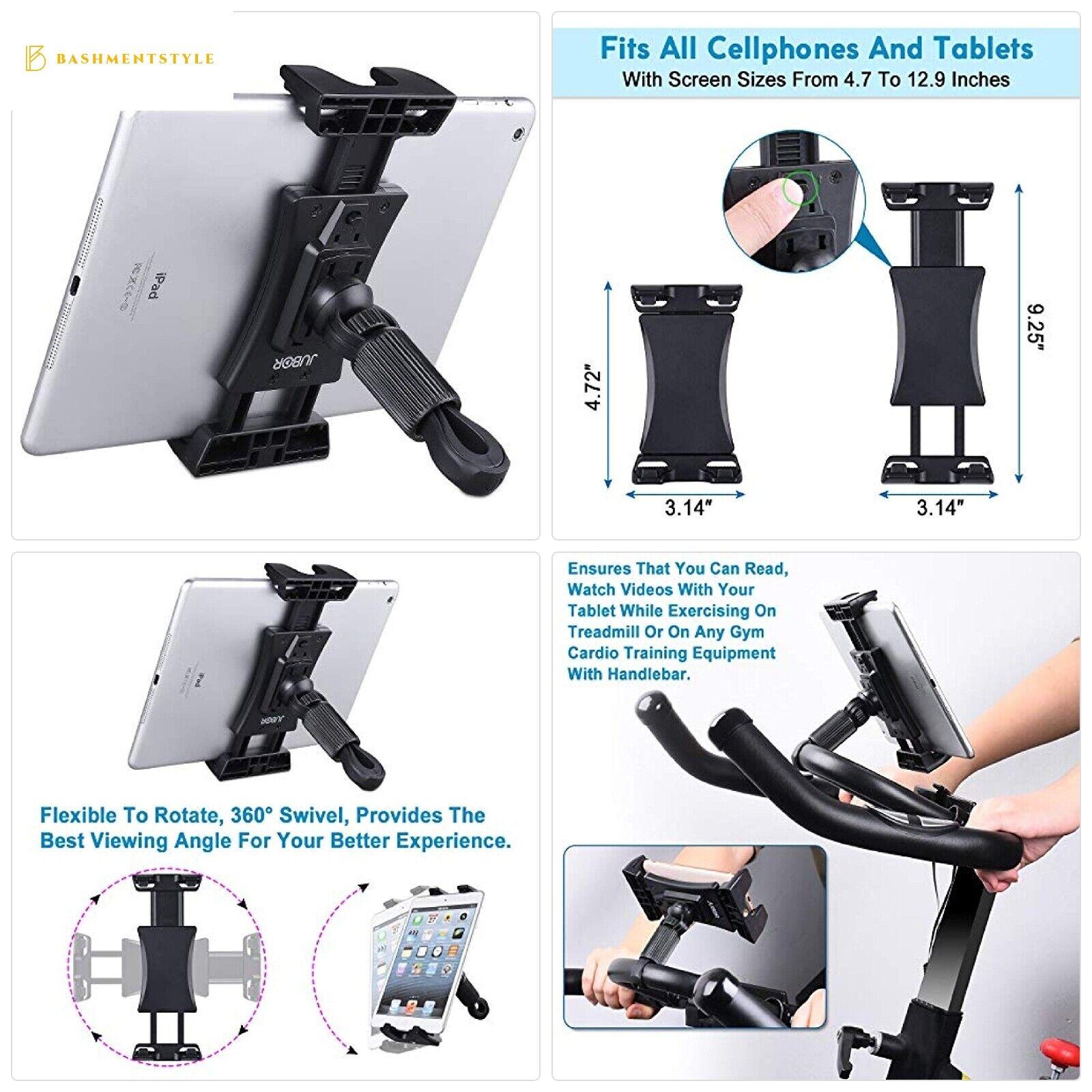 JUBOR Bike Tablet Holder, Portable Bicycle Car Phone Tablet