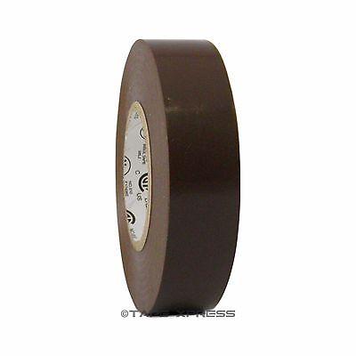 1 Roll Brown Vinyl Pvc Electrical Tape 34 X 66 Flame Retardant Free Shipping