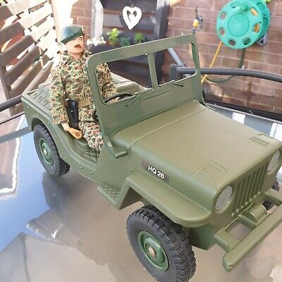 Vintage Action Man Palitoy Jeep