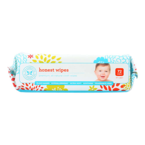 The Honest Company Honest Wipes - Unscented - Baby - 72 Wipes - 6 PACK