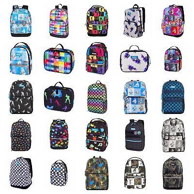Character Lunch - Fortnite Backpack OR Lunch Bag OR Set Pick 1 Kids Teens School Character Bookbag