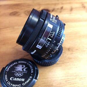 Nikon Nikkor AF 50mm 1.8 Lens Full Frame