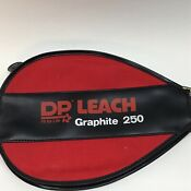 DP Leach Graphite 250 Bandido Fit 4 Life Racquetball Racquet w/Protective Cover