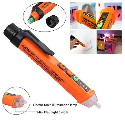 12-1000v Non-contact Lcd Electric Voltage Test Pen Ac Digital Tester Detector Us