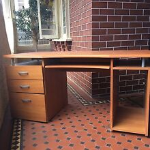 Desk with drawers Croydon Burwood Area Preview