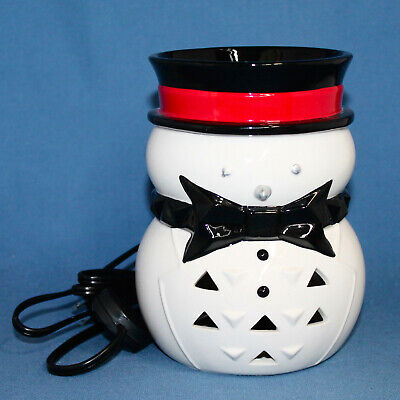 NIB YANKEE CANDLE Scenterpiece Jack Frost Easy Melt Warmer Light Up w/ Timer