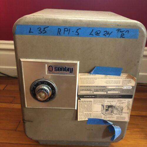 "Vintage Sentry Safe Combination Floor Safe 19"" Tall x 14"" Wide"