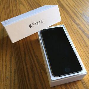 Like NEW - iPhone 6 Black 16gb - ROGERS / CHATR