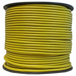 shielded bulk mic cable pro audio snake xlr microphone wire 500 ft reel yellow. Black Bedroom Furniture Sets. Home Design Ideas