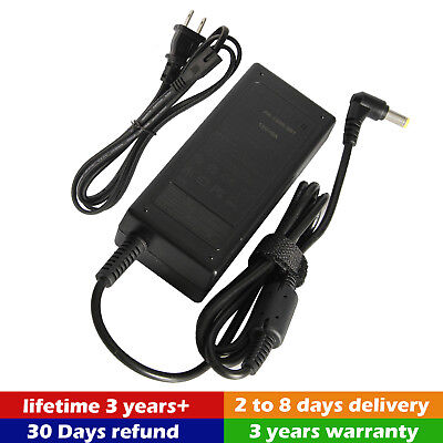 Lcd Ac Power Cord (AC Adapter Power Supply Charger Cord For Dell S2340M S2340MC 23