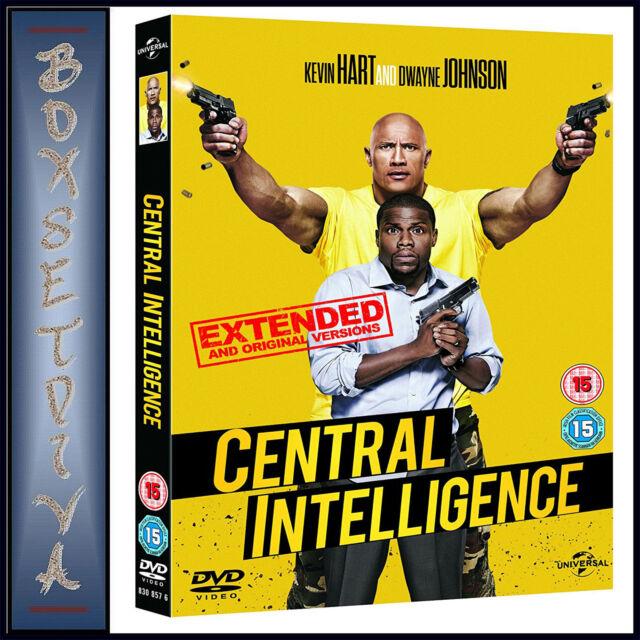 CENTRAL INTELLIGENCE -  Dwayne Johnson & Kevin Hart  *BRAND NEW DVD **