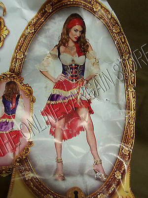 InCharacter Halloween Good Fortune Teller Renaissance Gypsy Lady Costume Small ](Lady Luck Costume)