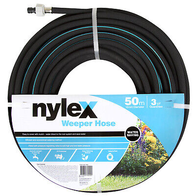Nylex WEEPER HOSE 50m Suited To Garden Beds & Vegetable Patches *Aust Brand