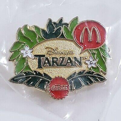 Vintage McDonald's Collectible Scatter Hat Pin 1999 Disney's Tarzan Coca Cola