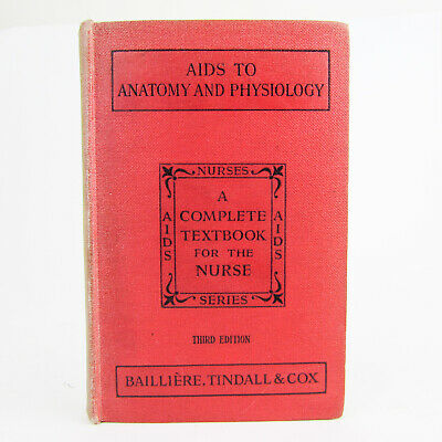 Aids to Anatomy and Physiology for Nurses 1945 Vintage Hardback Medical Book for sale  Shipping to South Africa