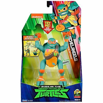 Michael Angelo The Ninja Turtle (Rise of the Teenage Mutant Ninja Turtle Michaelangelo Popup Attack Deluxe)
