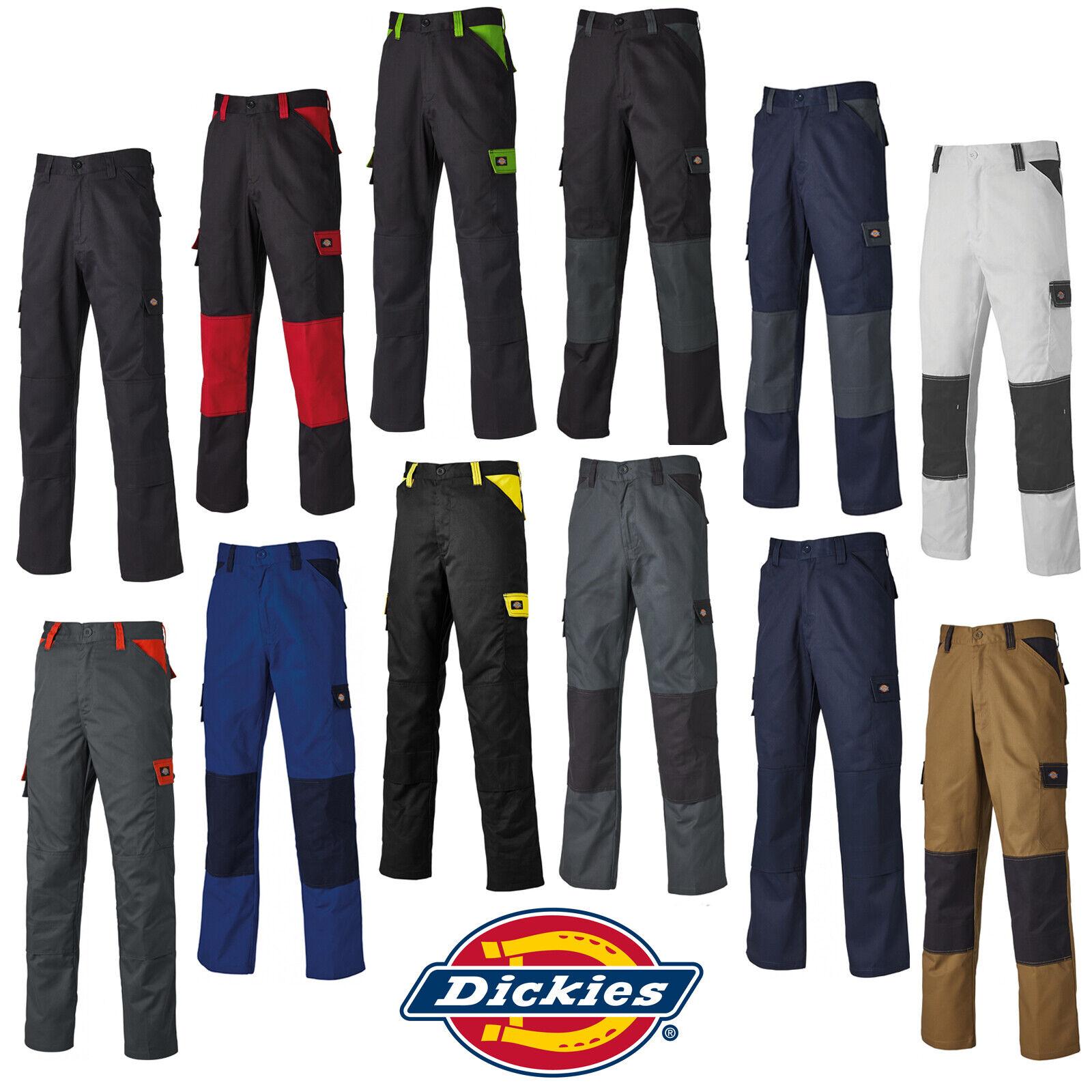 Dickies Diario Pantalones Hombre Ligero Duradero Industrial Trabajo Ed247r Ebay
