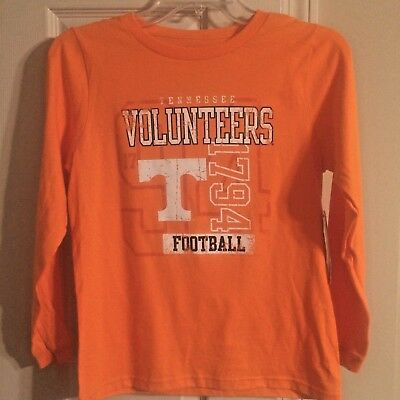(Tennessee Volunteers Football-Knights Apparel-Youth Long Sleeve T-Shirt  NWT)