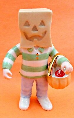 Lenox Last Minute Costume Halloween Figurine Fall Fest Boy in Costume